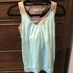 Athleta workout top with built in bra